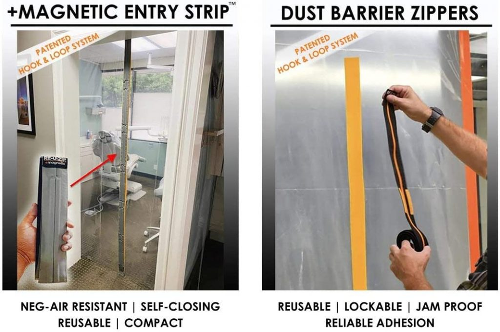 Temporary Wall Entry Options